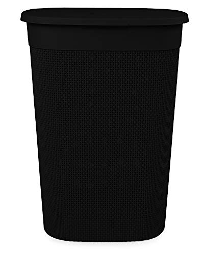 Ondis24 Wäschebox Wäschekorb Filo 55 Liter (schwarz)