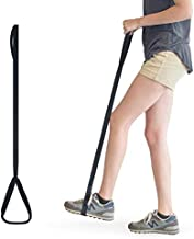 RMS 42 Inch Long Leg Lifter - Durable & Rigid Hand Strap & Foot Loop - Ideal Mobility Tool for Wheelchair, Hip & Knee Replacement Surgery (42 Inch Long)