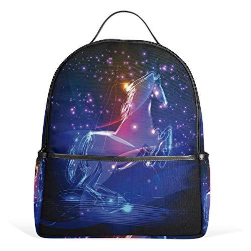 Wunderschöner Einhorn-Kinder-Rucksack für Kinder, Schulranzen für Jungen und Mädchen, perfekt für Schule oder Reisen.