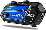 M1-S Plus Intercomunicador Casco Moto Fodsports con 900mAh, CVC Reducción De...