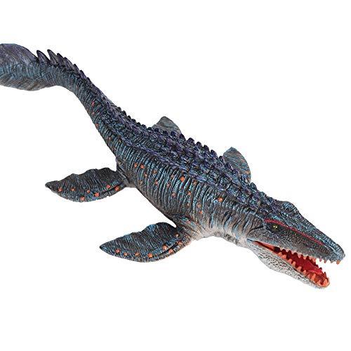 JOKFEICE Figuras de animales realistas Mosasaurus SolidSea Animal Juguete, Proyecto de Ciencia, Decoración para pasteles, Juguetes educativos tempranos Cumpleaños para niños de 3 4 5 (tamaño grande)
