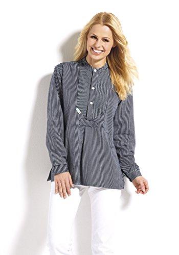 AS Bekleidungswerk Fischerhemd Finkenwerder Stil Basic von Modas schmal gestreift (XXL)