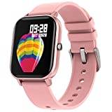 Smart Watch for Men Women, Smartwatch Compatible with iPhone Samsung Android Phones, Fitness Tracker with Heart Rate Blood Pressure Monitor Sleep Monitor, Fitness Watch with Step Calorie Counter