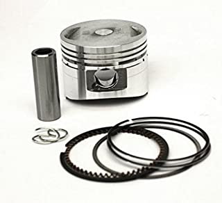 50mm Motorrad Kolbensatz kolbenring für HUSQVARNA 66 268 268K 268XP Motorsäge