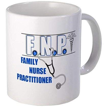 Not Applicable FNP W/Stethoscope Becher - 11 Unzen Keramik weißer Kaffee/Teetasse '