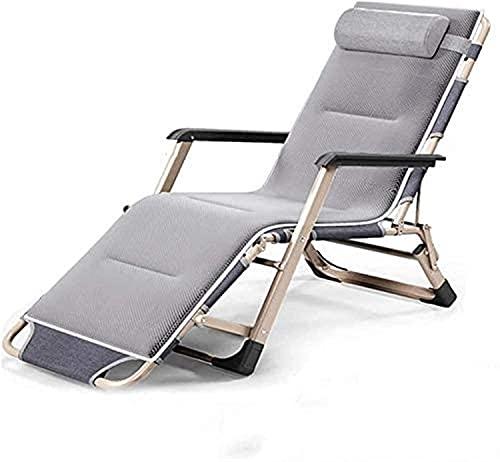 Reclining utomhus vikstolar justerbar vikbädd, noll gravitation stol, lounge stol, solstolar, utomhus sittplatser-vilstol med bomullsplatta