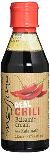 Papadeas - Messino Vinegars Balsamico Creme Glaze mit Chili 250ml, 3er Pack (3 X 250ml)