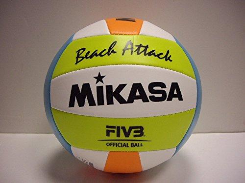 MIKASA BEACH ATTACK 2015 Beachvolleyball Volleyball Größe 5 Softtouch 129161