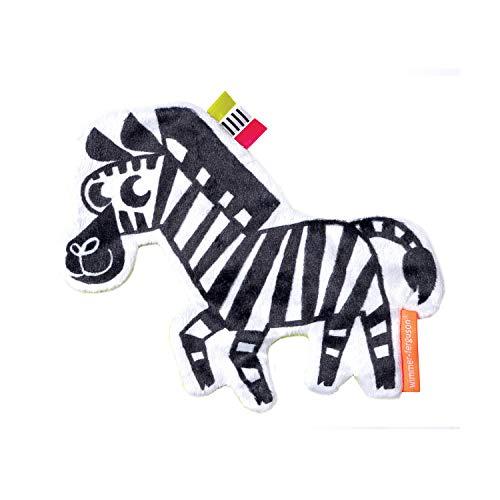 Manhattan Toy Jouet Sensoriel pour Bébé avec Zébrures Froissées et Zébrées de Wimmer-Ferguson