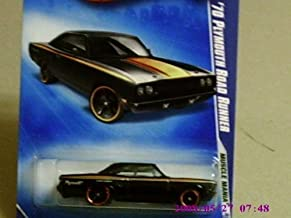 2009 Hot Wheels Muscle Mania Black '70 Plymouth Road Runner w/ Black OH5SPs #079 (03 of 10)