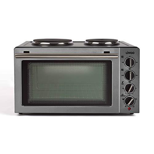 Livoo - Mini four 30 L avec plaques électriques DOC211