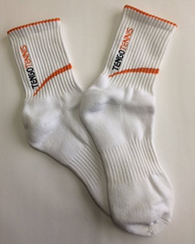 Astis Tengo-Tennis Socken , white-orange Gr. 35-39