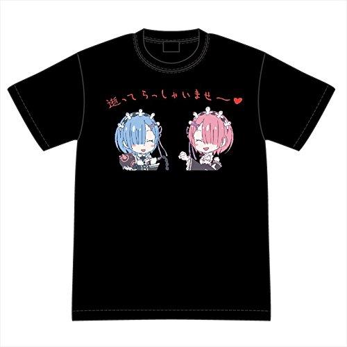 Re:ゼロから始める異世界生活 ラム&レムの逝ってらっしゃいませ~ Tシャツ Mサイズ