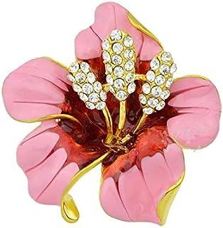 flower design brooch for women