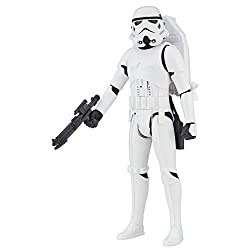 Interactive figure with over 65 sound effects and phrases Includes blaster accessory Create adventures and scenes from the Star Wars Universe