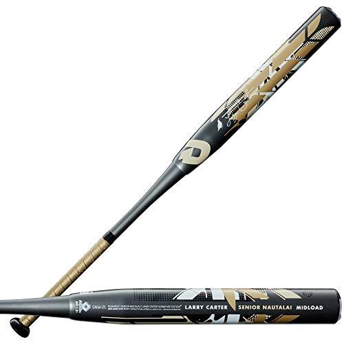 Demarini 2021 Senior Nautalai Mid-Load Larry Carter Signature Slowpitch Softball Bat - 34'/28 oz