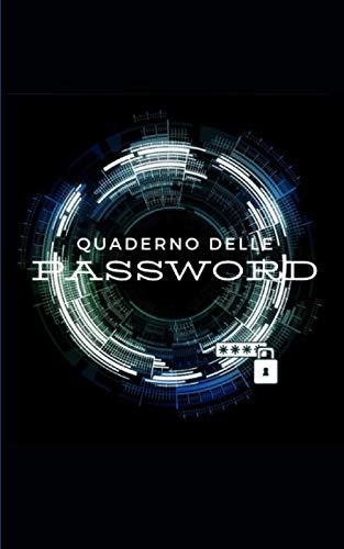 Quaderno delle password: Quaderno per organizzare le password e i nomi utenti su internet  104 pagine   Carta di qualità crema   Cortina flessibile (quaderni e notebook)