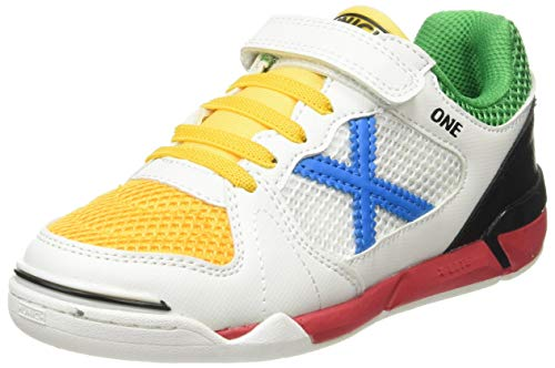 Munich One Kid VCO Indoor 34, Zapatillas Deportivas, Multicolor, 27 EU