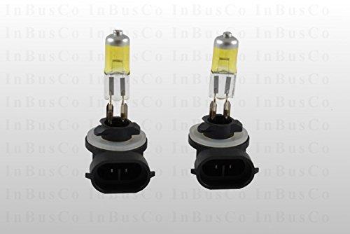2x 881 H27W/2 Halogenlampen Lampen Birne Glühbirne Sockel PGJ13 27W 12V YELLOW EDITION mit 3000 Kelvin Nebelscheinwerfer Abbiegelicht