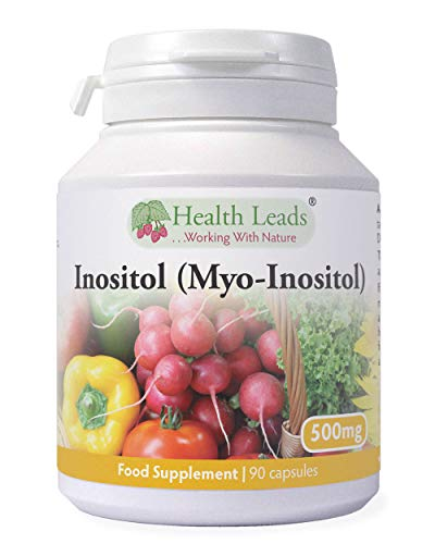 Inositol (Myo-Inositol) 500mg x 90 Capsules