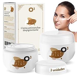 O³ Crema Antimanchas Facial – 2 Unidades x 30 g – Cosmética Anti-Manchas | Despigmentante Facial Para La Cara – Crema Blanqueadora Quita Manchas Facial – Imperfecciones – Marcas De La Piel