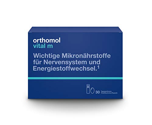 Orthomol Vital M Trinkflaschen plus Kapseln, 30er Packung