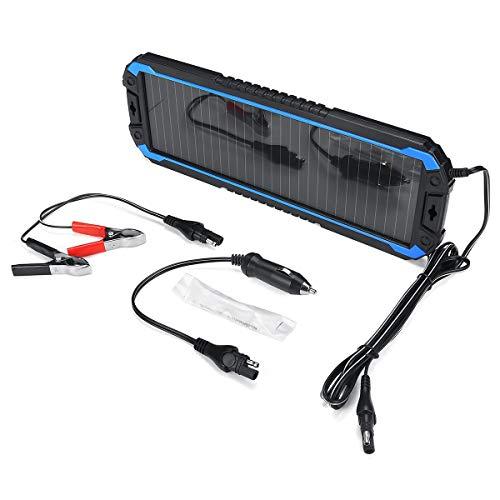 Aerogenerador, Panel solar completo fuera de la red RV Mar Portátil panel solar cargador de la fuente de alimentación batería de repuesto, 18V 1.5W for coches, motocicletas, Marina Caravanas