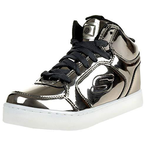 Skechers S Lights: Energy Lights ELIPTIC LED Sneakers Kinderschuhe Blinkschuhe Gun, Schuhgröße:29 EU