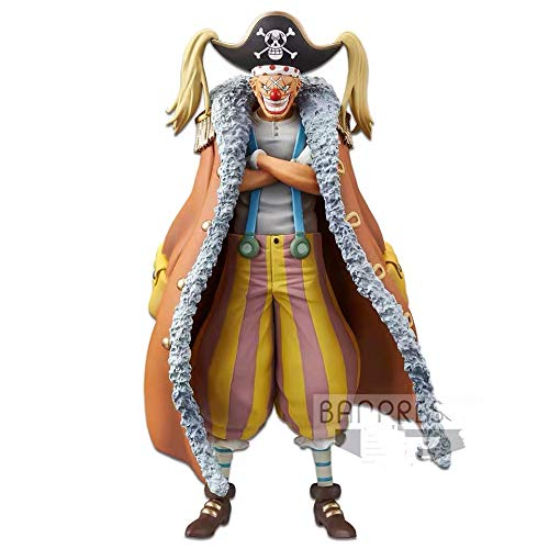One Piece Stampede Buggy Vol.6 DXF The Grandline Men PVC Action Figura Model Figurals
