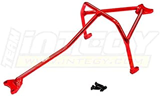 Integy RC Model Hop-ups T8533RED Aluminum Alloy Inner Roll Cage for Traxxas 1/10 Slash 4X4 Non-LCG (6808)