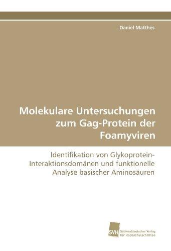 Molekulare Untersuchungen zum Gag-Protein der Foamyviren: Identifikation von Glykoprotein- Interaktionsdomänen und funktionelle Analyse basischer Aminosäuren
