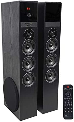 Top 10 Best bluetooth tower speakers for home Reviews