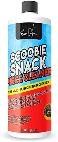 Evo Dyne Pipe Cleaner Made in the USA Glass Cleaner Removes Tar Resin Effectively with Our Soak product image