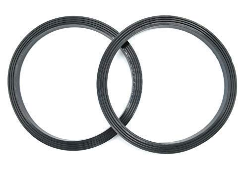 Blendin Replacement Gasket, Compatible with Nutribullet RX 1700W NB-302 Blenders Blade and Stay Fresh Lids (2 Pack)