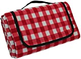 Large Picnic Blanket | Oversized Beach Blanket Sand Proof | Outdoor Accessory for Handy Waterproof Stadium Mat | Water-Resistant Layer Outdoor Picnics | Great for Camping on Grass and Portable