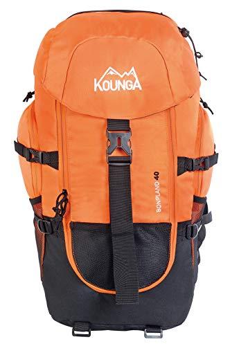 Kounga Bonpland Mochila, Adultos Unisex, Naranja, 40L