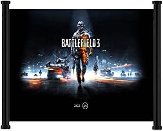 Battlefield 3 Game Fabric Wall Scroll Poster (26