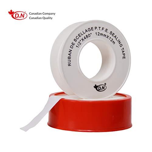 Teflonband Dichtungsklebeband 15m x 19mm 0,2 mm Gewindeband PTFE für Pumpen