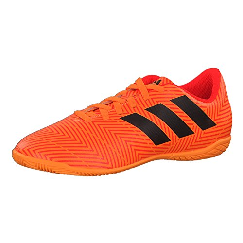 adidas Nemeziz Tango 18.4 in J, Scarpe da Calcio Unisex-Bambini, Arancione Zest/Cblack/Solred, 28.5 EU