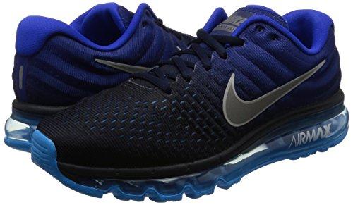 Nike Men's Air Max 2017 Dark Obsidian/White Running Shoe 11 Men US