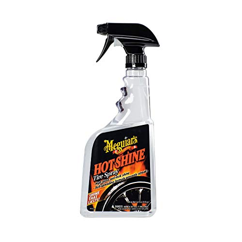 Meguiar's G12024 Hot Shine Tire Spray, 24 oz