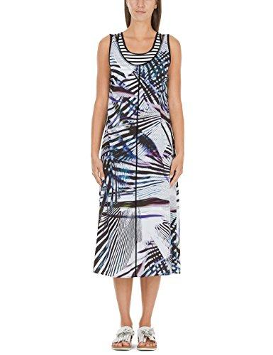 Marc Cain Sports Damen JS 21.25 W19 Kleid, Mehrfarbig (Ink Blue 359), (Herstellergröße: N4 / 40)