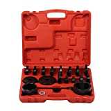 Wheel Drive Bearing Press Tool Set, 23Pcs FWD Front Wheel Drive Bearing Adapters Puller Press Replacement Installer Removal Tool Kit