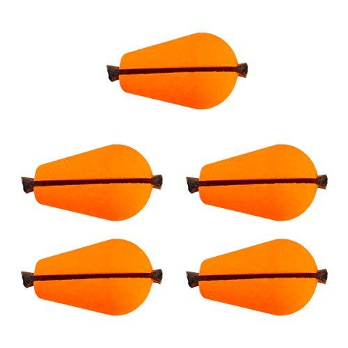 BESPORTBLE 5 Stücke Angeln Posen Schwimmer Bobber Angelposen Knicklicht Forellenpose Hechtposen Knicklichtposen für Süßwasser Salzwasser Felsenfischen Seefischerei