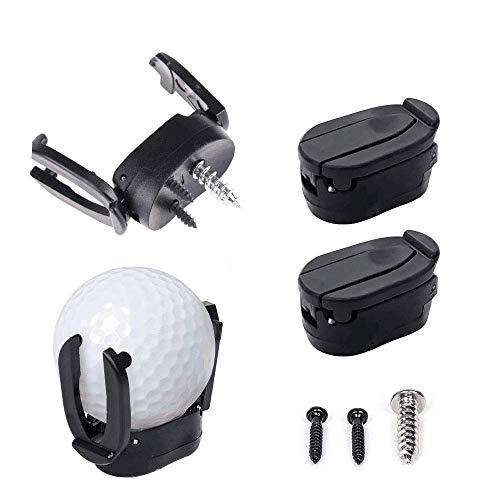 INHEMI 4 x Golf Ball Pick up Zurück Werkzeug Greifer Putter Grip Retriever Grabber Golf Zubehör