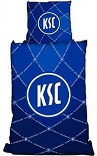 KSC DFB Bundesliga Bettwäsche KSC Karlsruher SC - Biber 135/200 cm