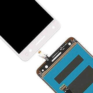 لوحة لمس الهاتف المحمول - شاشة LCD ومحول رقمي كامل التجميع Lcd زجاج بديل لـ Vibe S1 LITE S1LA40 (أبيض)