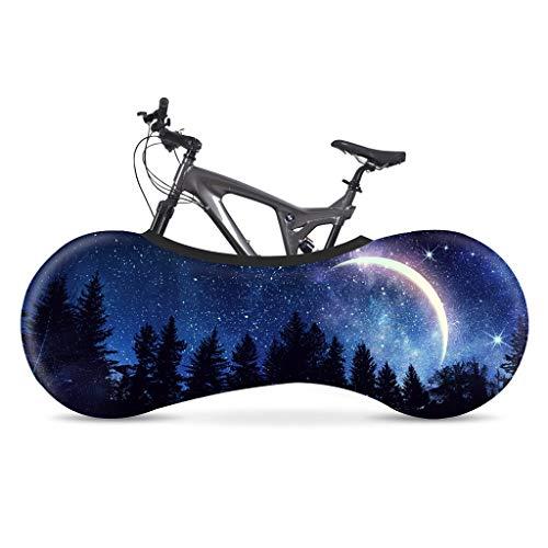 Cubierta de la rueda de bicicleta, cubierta de polvo interior al aire libre para la bicicleta de montaña, bolsa de almacenamiento de bicicletas elástica para la protección de bicicletas ( Color : 15 )