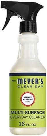 Mrs Meyer's, Cleaner Spray Countertop Lemon Verbena, 16 Fl Oz