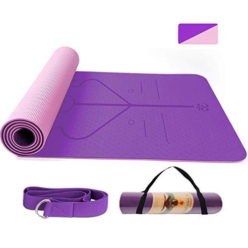 BUDDYGO Esterilla Yoga Antideslizante Colchonetas de Yoga Esterilla Pilates...